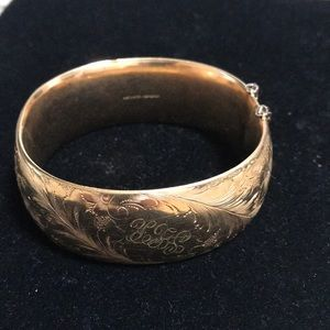 Jewelry - Vintage Gold filled bracelet 1/20-12K GF